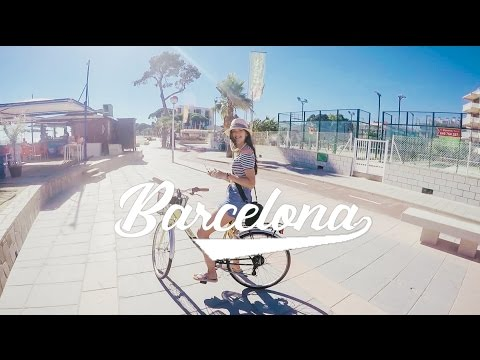 Travel to Spain - Barcelona GoPro