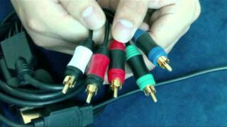 4 in 1 Component Video Cable For PS3/PS2/Wii/Xbox 360