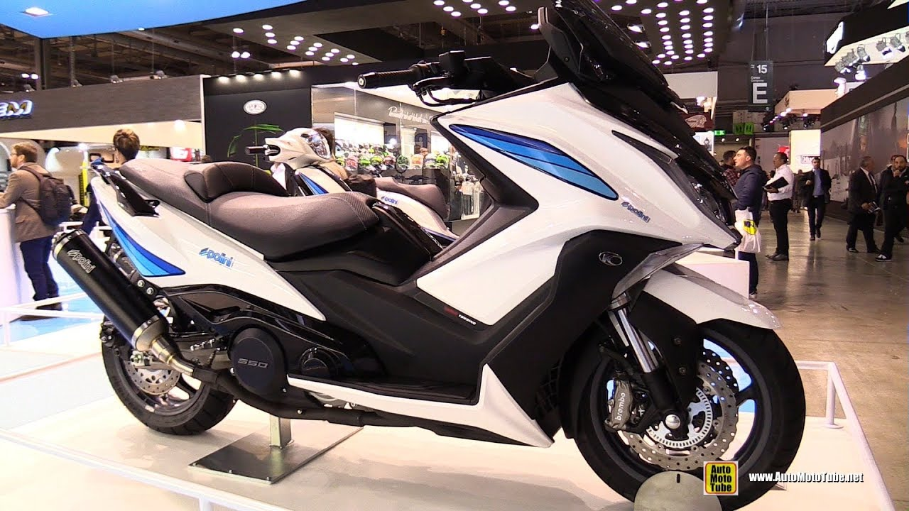 2018 polini kymco ak 550 scooter walkaround 2017 eicma motorcycle exhibition youtube. Black Bedroom Furniture Sets. Home Design Ideas