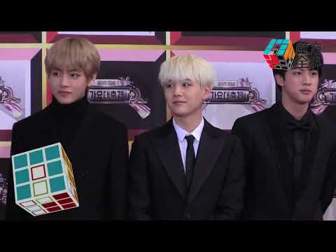 [HD] 171229 BTS - Red Carpet @ KBS Gayo Daejun