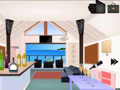 Beach house escape 2 video walkthrough youtube for Minimalist house escape 2 walkthrough
