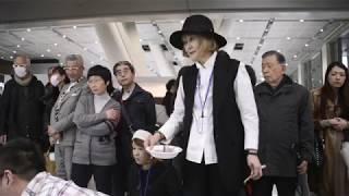 脈々とGUTAI  堀尾貞治☓森内敬子 ライブペインティング/鳩ノ森美術