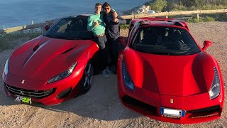 WOULD YOU LET ANYONE DRIVE THE FERRARI?? DONZE TRIES IT!