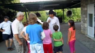 Mednarodni poletni jezikovni tabor v Kozjanskem raju - Prevorje julij 2012