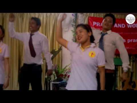 #CCC_Nepali_Ministry_JB_Malaysia_Nepal Bina Sarangi Nepali Christian Dance Cover By Manju, Ranjana