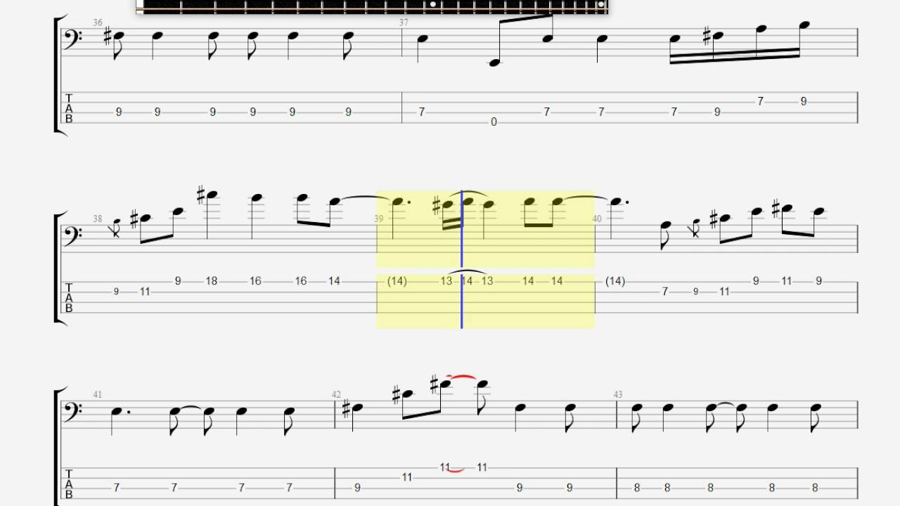 Clapton Eric Tears In Heaven BASS GUITAR TAB