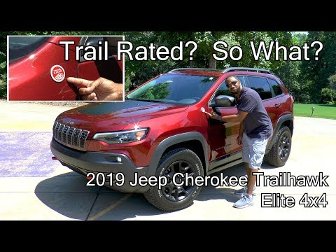 2019 Jeep Cherokee Trailhawk Elite 4x4 Review - Trail Rated?  So What?