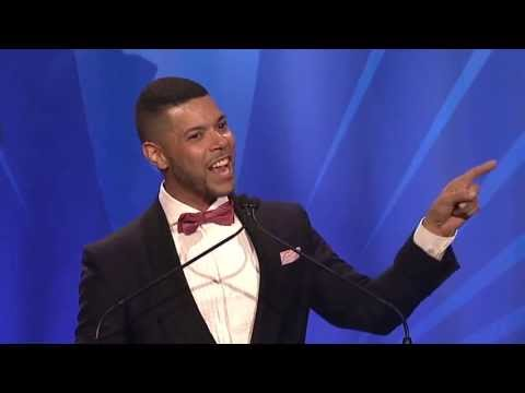 Wilson Cruz at the glaadawards in 1995 and 2013