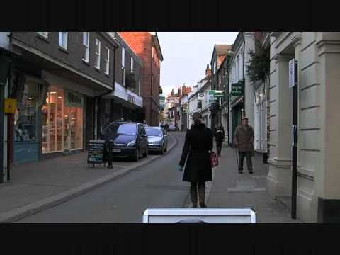 Woodbridge Suffolk UK England Thoroughfare