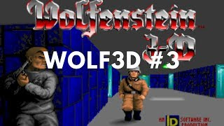 Wolfenstein 3D Playthrough #3 - Wandering around the map