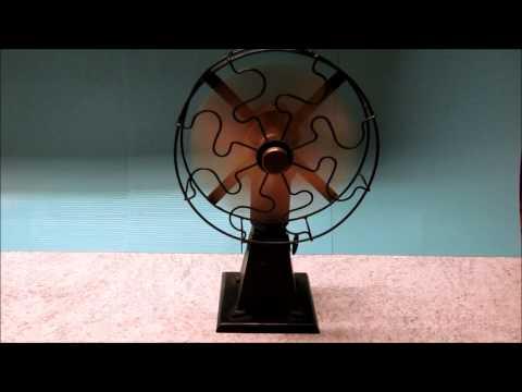 Solar Engines, Phoenix AZ - Initial Testrun of Stirling Engine Fan