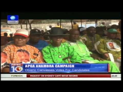 News@10: EU Observer Urges Nigeria To Keep To Poll Dates 29/01/15 Pt.2