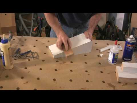 Craftsman Mantelpiece Corbels: Part 2
