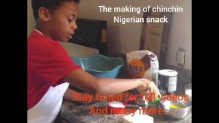 AMERICAN GOT TALENT 10 year old Adebisi promo Video-Making &quotNigerian ChinChin&quot