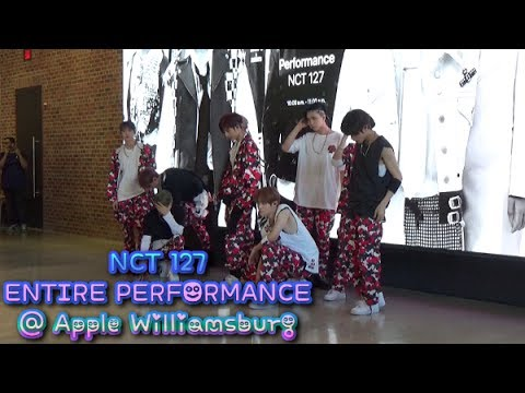 NCT 127 Entire Performance @ Apple Williamsburg