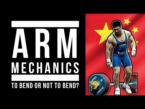 To bend or not to bend? (arm mechanics in the clean)