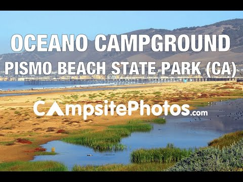 Oceano Campground Pismo State Beach California