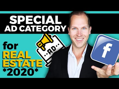 🔴 Facebook Ads for Real Estate Agents (2020) SPECIAL AD CATEGORY (Step by Step Tutorial)