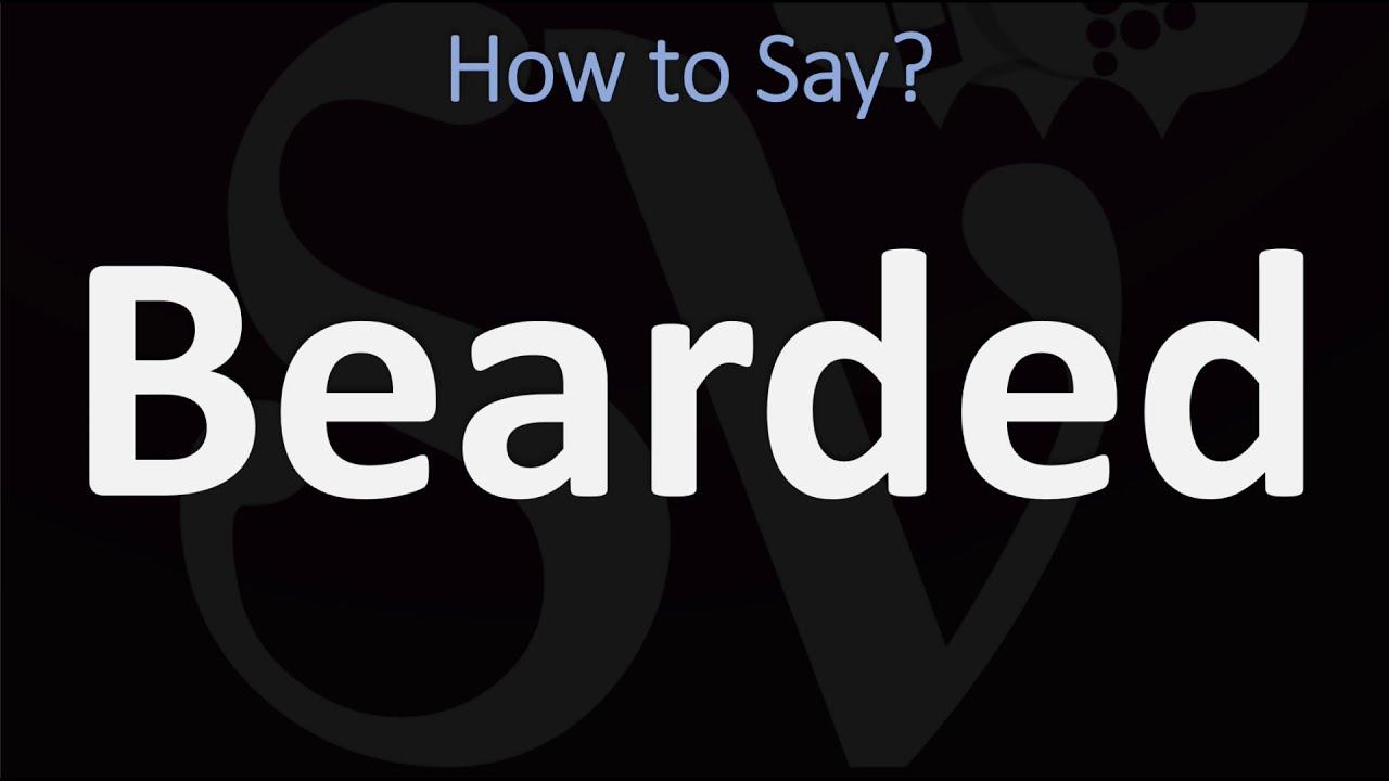 How to Pronounce Beard? (CORRECTLY) - YouTube