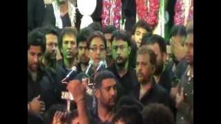 lahoo mai doob gaya...recit by mir saber ali zawar, at bargha, anjuman e masoomeen 2013