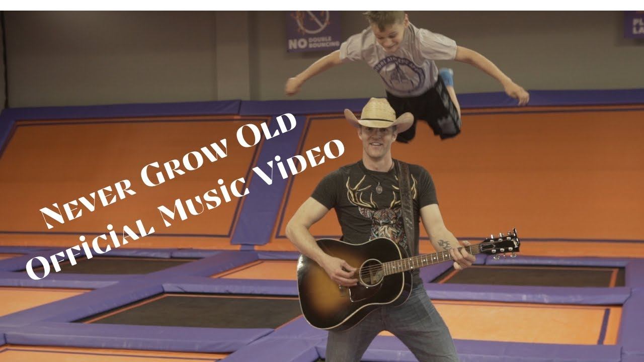 Official Music Video Houston Bernard Band - Never Grow Old