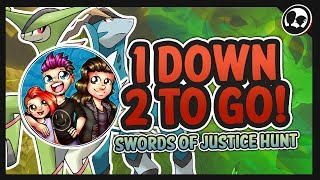 🔴 SWORDS OF JUSTICE HUNT!! 2 TO GO! ROBUX GIVEN ON MILESTONES! | Roblox: Pokemon Brick Bronze