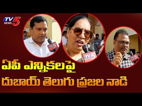 AP Election Fever In Dubai | AP Elections 2019 | TV5 News
