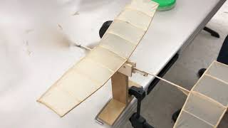 Kid science Handmade airplane can fly: no battery, no power, only using one rubber band