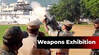 Visakhapatnam: Weapons' exhibition and dog show organised for students