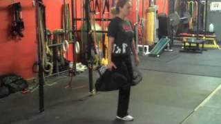 ultimate sandbag training   lower body workout   trx suspension training