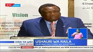 Kiongozi wa ODM Raila Odinga atoa ushauri kwa wafanyikazi