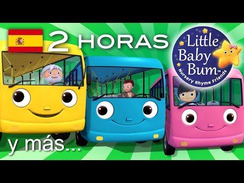 Las ruedas del autobús | 2ª Recopilación | Más de 2 horas de canciones infantiles | LittleBabyBum!