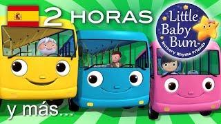 Las ruedas del autobús   2ª Recopilación   Más de 2 hora...