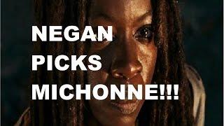 The Walking Dead Season 7 - NEGAN PICKS MICHONNE - TWO DIE!!!