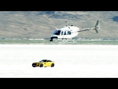 Dat Roar Tho: Listen to the Mercedes-AMG GT at Bonneville