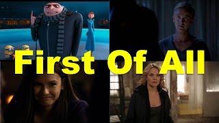 First of all (примеры из фильмов и сериалов) / Фразы на английском языке