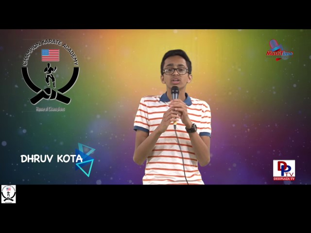 "Dhruv Kota speaking about ""Technology"" in Talking Bee - Public Speaking competitions 2016"