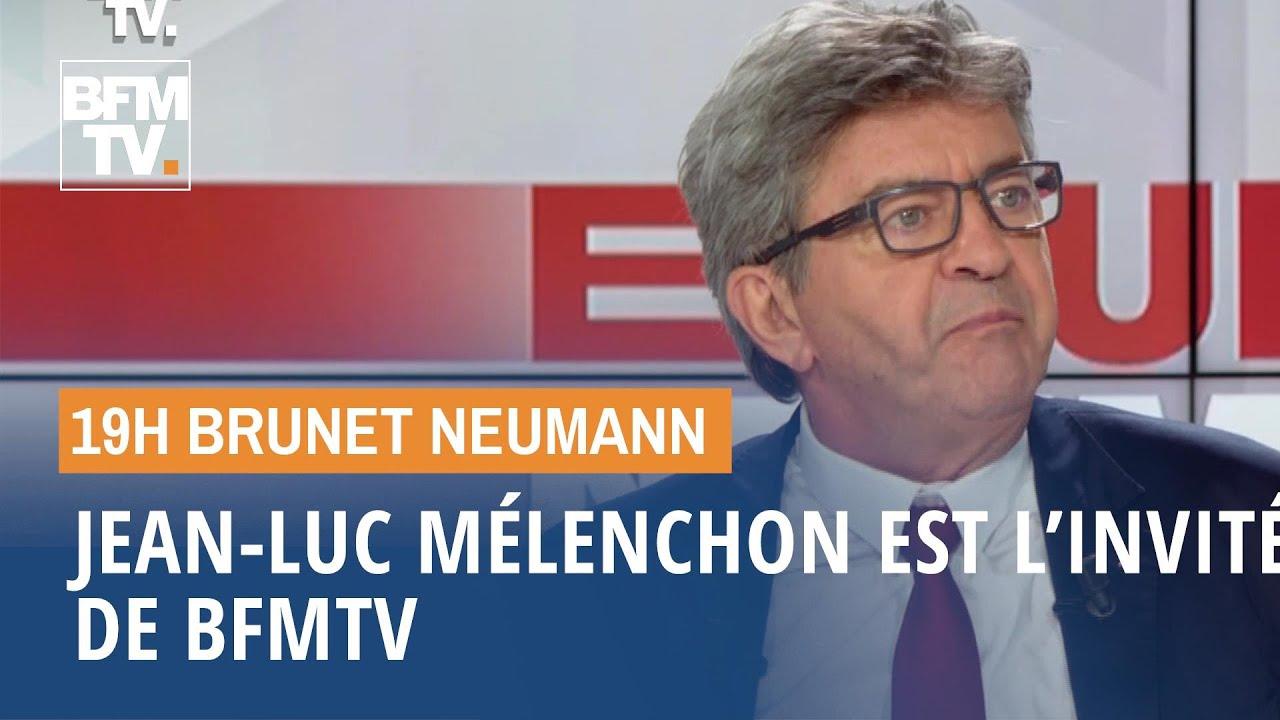 Jean-Luc Mélenchon est l'invité de BFMTV (1/2)