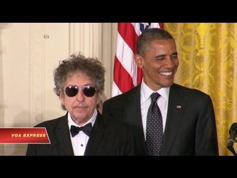 Bob Dylan đoạt giải Nobel Văn học 2016
