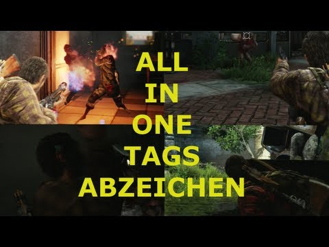 The Last Of Us - All In One Tags Abzeichen [HD]