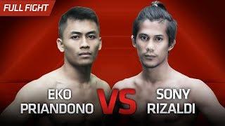 [HD] Eko Priandono vs Sony Rizaldi || One Pride Pro Never Quit #26
