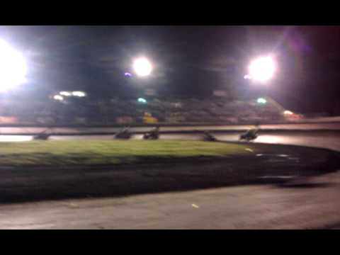 Ryan Carlucci South Texas Speedway Kart Feature 3-19-2011