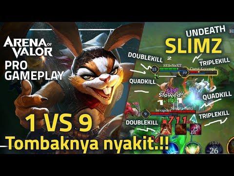 TERNYATA SLIMZ.!! OVERLORD SLIMZ.!! Arena of valor