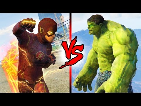 THE FLASH vs HULK!