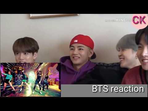 BTS reaction to BLACKPINK '붐바야'(BOOMBAYAH) M/V