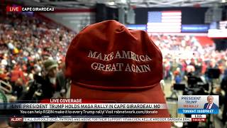 FULL EVENT: President Donald Trump MASSIVE Rally in Cape Girardeau, MO 11/5/18