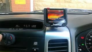 Parrot MKi9200 Bluetooth car kit installed in a Toyota Prado by Www.GT-installs.co.za