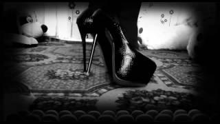 Черные туфли на высоком каблуке с Aliexpress 👠 high-heeled shoes with Aliexpress
