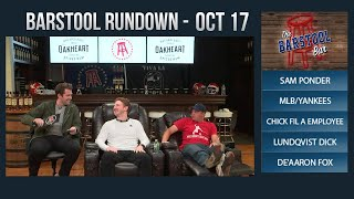 Barstool Rundown - October 17, 2017