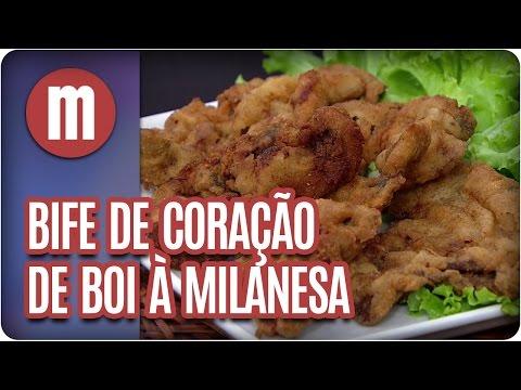 Bife de coração de boi  à milanesa - Mulheres (16/03/17)
